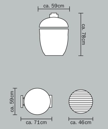 Monolith Grill Masse